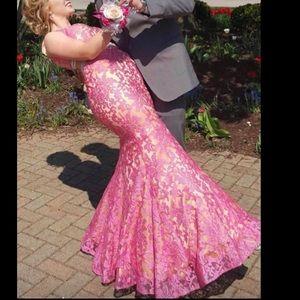 Anny Lee Pink Prom Dress